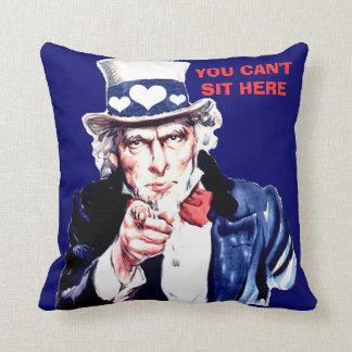 El amortiguador DIVERTIDO, mi sofá, no se sienta Cojín