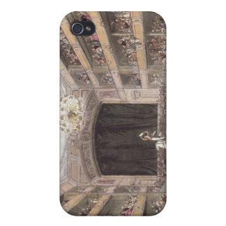 El Amphitheatre de Astley de Ackermann iPhone 4 Carcasas