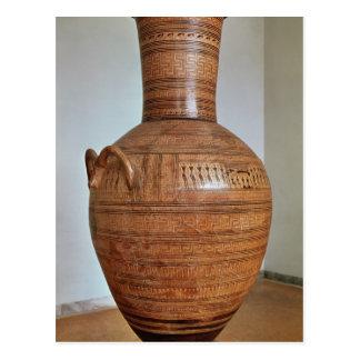 El Amphora de Dipylon Postales