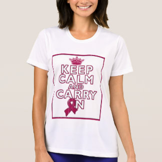 El Amyloidosis guarda calma y continúa Camiseta