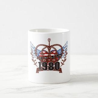 el an o 80 taza clásica