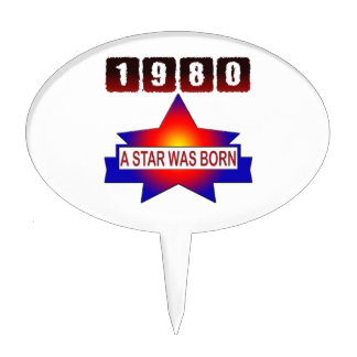 El an o 80 una estrella nació decoraciones de tartas