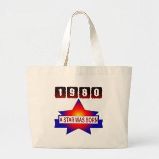 El an o 80 una estrella nació bolsa tela grande