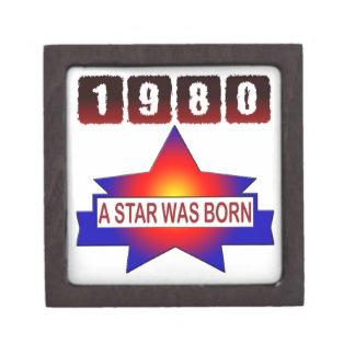 El an o 80 una estrella nació caja de recuerdo de calidad