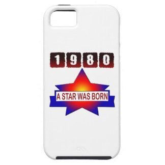 El an o 80 una estrella nació iPhone 5 cárcasas
