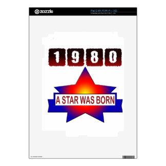 El an o 80 una estrella nació iPad 2 calcomanía