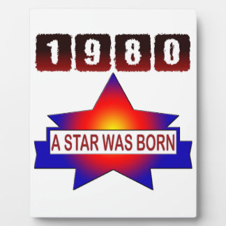 El an o 80 una estrella nació placas con fotos