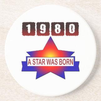 El an o 80 una estrella nació posavasos para bebidas