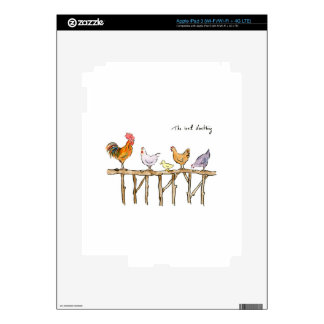 El anadón, los pollos y el anadón perdidos iPad 3 skin