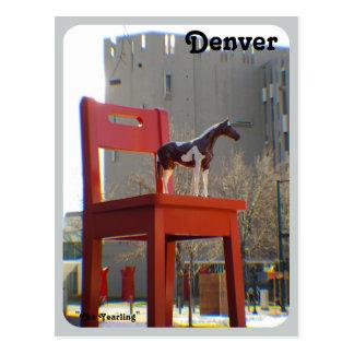 El añal en Denver, Colorado Tarjeta Postal