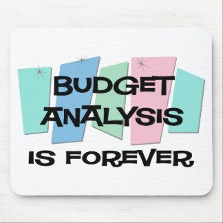 El análisis del presupuesto es Forever Alfombrilla De Ratones