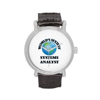 El analista de sistemas más atractivo del mundo relojes de pulsera