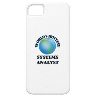 El analista de sistemas más caliente del mundo iPhone 5 protectores