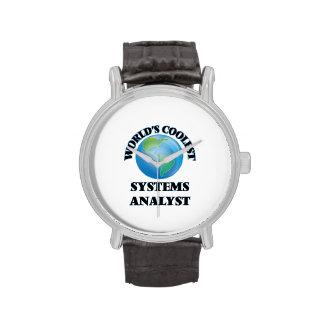 El analista de sistemas más fresco del mundo reloj