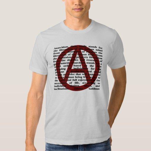 El anarquismo es cita polera