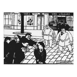 El anarquista, 1892 postales