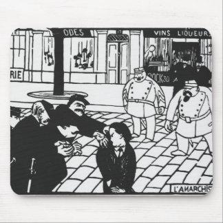 El anarquista 1892 alfombrillas de ratones