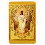¡El Anastasis - suben a Cristo! Imán del icono