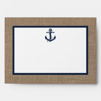 El ancla de la marina de guerra en la colección sobre