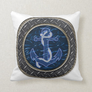El ancla de un marinero cojín decorativo