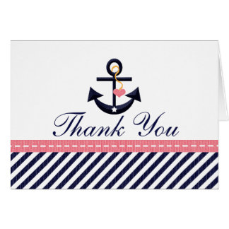 El ancla náutica de la marina de guerra rosada le