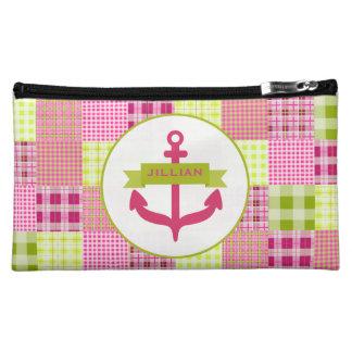El ancla y Madras rosadas inspiraron el bolso de