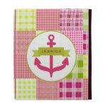 El ancla y Madras rosadas inspiraron el folio del