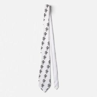 El andar a trancos del espantapájaros corbatas