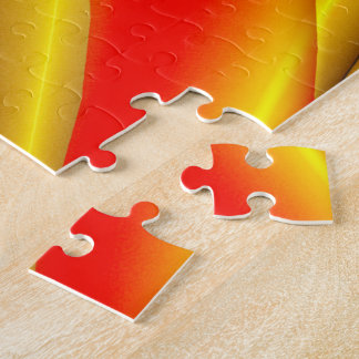 El andar en monopatín en la silueta del cuenco puzzle