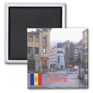 ÉL - Andorra - el llevar del área - vigilia del Imán Cuadrado