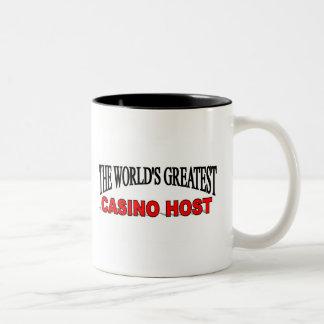 El anfitrión más grande del casino del mundo taza de dos tonos