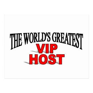 El anfitrión más grande del VIP del mundo Postal