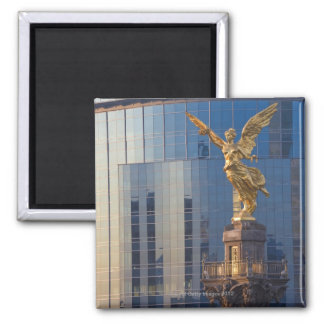 El Angel and Independence Monument and offices Magnet
