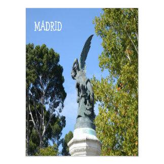 El Angel Caido, Retiro Park, Madrid Magnetic Card