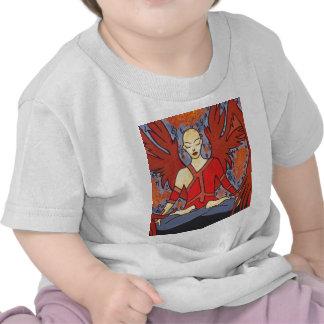 El ángel camisetas