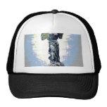 El ángel con alas de la victoria habla (el azul) gorra