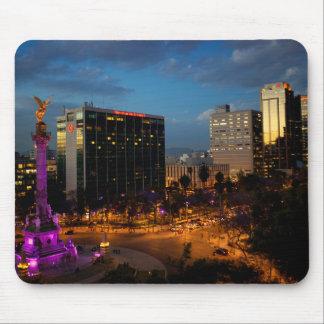 El Angel De Independencia, Mexican Landmark Mouse Pad