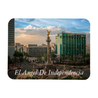 El Angel De Independencia Rectangular Photo Magnet