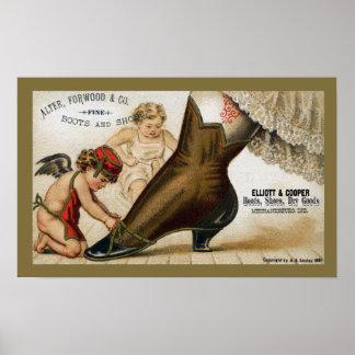 El ángel de la bota para altera, Forwood y Co Póster