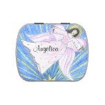 El ángel de la estrella, personaliza con nombre latas de dulces