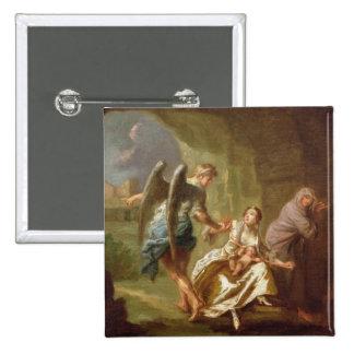 El ángel de la misericordia, c.1746 (aceite en lon pin cuadrada 5 cm
