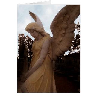 El ángel de la reflexión tarjetas