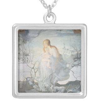 El ángel de la vida, 1894 colgante cuadrado