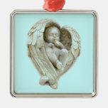 El ángel del bebé se va volando productos adornos