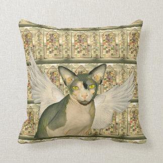El ángel del gato de la almohada el | Sphynx se va