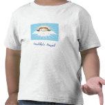 El ángel del papá camisetas