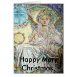 El ángel del rosa de navidad., Maria feliz Ch… Tarjetas