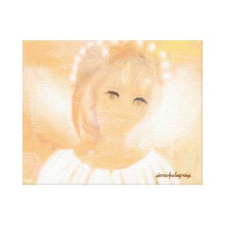 El ángel dulce de Sherri Lona Envuelta Para Galerias