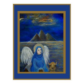 El ángel egipcio adaptable de la tierra llamó Lapi Postal