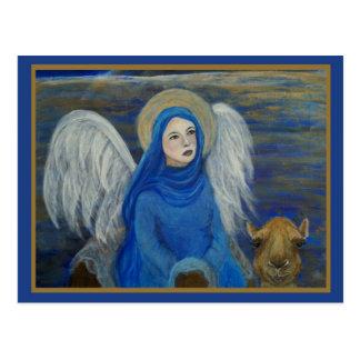 El ángel egipcio adaptable de la tierra llamó Lapi Tarjetas Postales